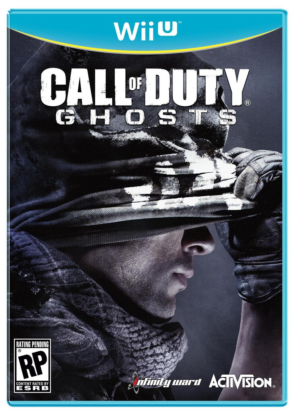 call of duty ghots wii u packshot